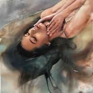 Самоук художник създава вълнуващи картини, които показват тайната на женската душата
