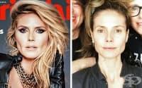 25 снимки на знаменитости на корици на списания и в реалния живот