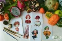 Лондонска художничка представя как биха изглеждали плодовете и зеленчуците като хора