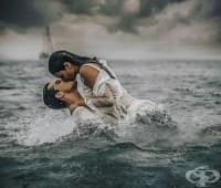 Испански фотограф улавя страстите на хората във водата