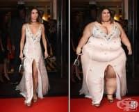 Художникът добавя допълнителни килограми на знаменитости, за да докаже, че красотата не зависи от размера