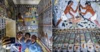 Археолози откриха 4000-годишна гробница в Египет. Вижте как изглежда отвътре