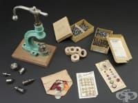 Материали, употребявани в трудова терапия от 1900 година
