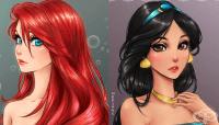 Вижте как биха изглеждали принцесите на Дисни като герои от аниме