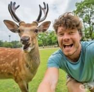 12 снимки, които доказват, че хората са приятели с дивите животни