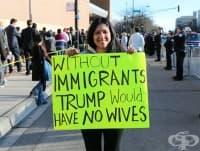 Най-забавните протестни плакати
