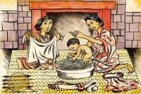 Грижи за жените по време на бременността и раждането в Империята на ацтеките