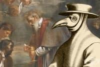 Теория за въздушно-капковото разпространение на чума в Англия