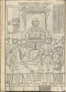 Първата отпечатана илюстрация на модерна анатомична дисекция