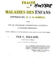 """""""Трактат за болестите при новородените и кърменето"""" на Шарл-Мишел Билярд – важен за развитието на неонаталната медицина научен труд"""