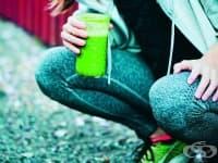 Хидратиращо зелено смути за спортуващи