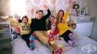 Живот със синдром на Даун или как едно семейство показва другата гледна точка за различните деца