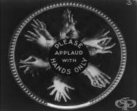 Невероятни ретро плакати, показващи какъв е бил етикета в киното през 1912