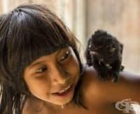 На ръба на изчезването: 14 зашеметяващи снимки на племето Ава и тяхната история