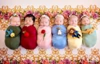 Приказно: Фотограф превърна шест новородени в принцеси на Дисни