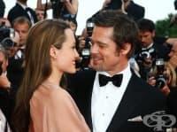 Анджелина Джоли и Брад Пит се врекоха един на друг на тайна церемония във Франция