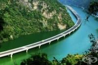 В Китай построиха най-невероятния мост