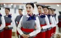 Вижте как обучават стюардесите в Китай