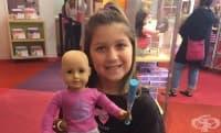 Бела - момичето с голямо сърце, което дарява кукли на деца с онкологични заболявания