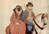 През XVI век дамите от аристокрацията носели маски, които им пречели да говорят
