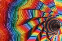 Невероятно изкуство, създадено от много, наистина много пластове хартия