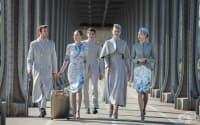Тези стюардеси са като от корица на модно списание