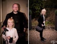 Момиче на 9 години  е най-търсеният сватбен фотограф в Шотландия
