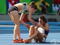 Истинският олимпийски дух: да помогнеш на съперник, изпаднал в беда