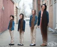 Запознайте се с истинската Рапунцел и нейните дъщери