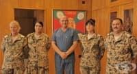 Екипът на ВМА се завърна от мисия в Мали