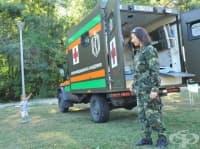 Лекари от ВМА представиха пред деца и младежи професията на военния медик