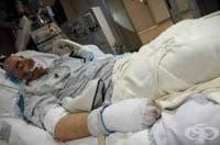 Мъж оцеля, след като прекара 12 часа при -20°C и с телесна температура 18°C