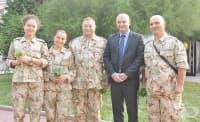 Военни лекари от ВМА заминаха на мисия в Мали
