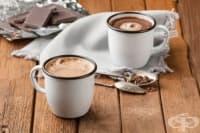 Кафе-лате с халва и мед