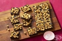 Шоколадов сладкиш без печене с лешници