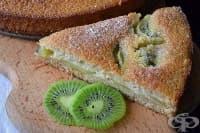 Плодова пита от течно тесто