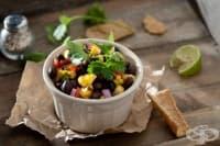 Бобена салата с цвекло и царевица