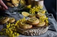 Цитрусови бисквити с бадеми и цял лимон