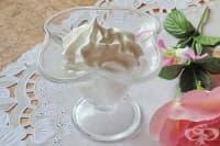 Белтъчен крем на водна баня (за торти и сладкиши)