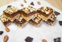 Безглутенов сладкиш с шоколад и карамел