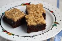 Брауни с карамелено-кокосова заливка