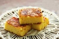 Царевичен сладкиш с горена захар