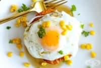 Палачинки от царевица с яйце