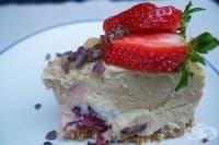 Суров чийзкейк с кашу и горски плодове