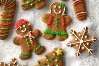Меки джинджифилови курабийки за Коледа