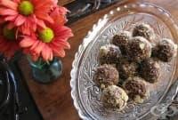 Захаросани джинджифилови трюфели