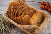Домашен хляб със сушени домати и парченца маслини (за хлебопекарна)