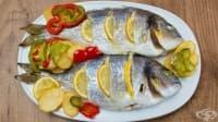 Ципура със зеленчуци и лимон на фурна