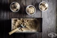 Домашен меден сладолед с печени кестени