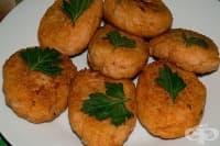 Картофени кюфтета с елда на фурна